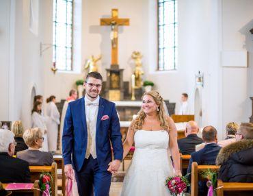 Standesamt und kirchliche Trauung in Bensheim - Stefanie & Dominik