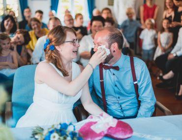 Herzensmenschen mit Gefühl- die Hochzeit von Nina & Robert